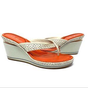 Cole Haan Air Caprice Wedge Sandals